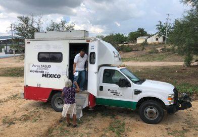 Unidades móviles de salud prestan servicio a familias del medio rural