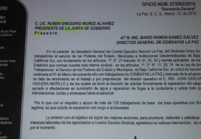 Hermano de la regidora Cecilia Higuera nuevamente es el problema en SAPA La Paz