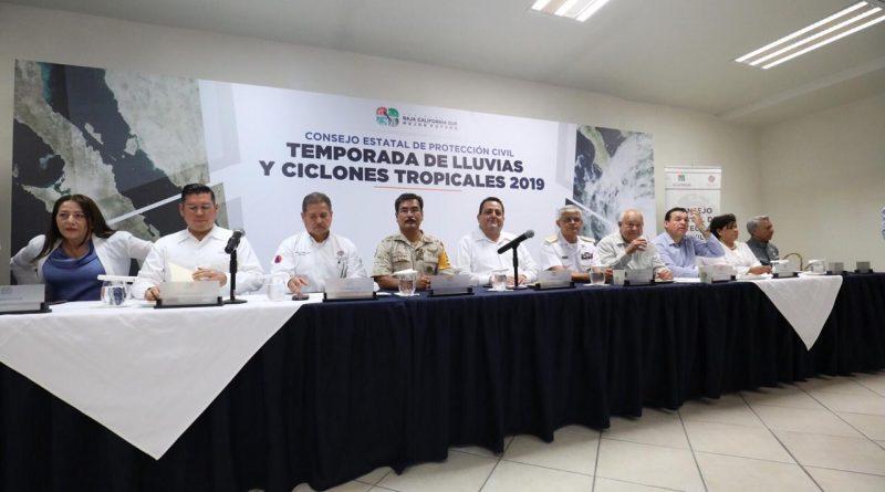 Instala gobernador Consejo Estatal de Protección Civil