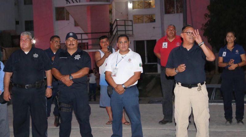 Inician simulacros de Protección Civil en zonas críticas de Los Cabos