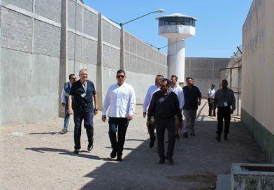 Realizan visita de supervisión al penal de Santa Rosalía