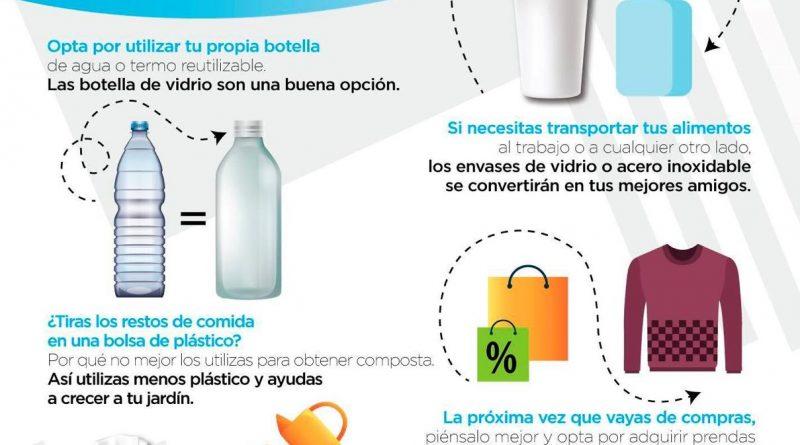 BCS será líder en abandonar la cultura del plástico: Carlos Mendoza