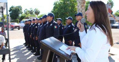 Alcaldesa de Loreto reconoció el trabajo y esfuerzo de los agentes de seguridad pública y tránsito municipal