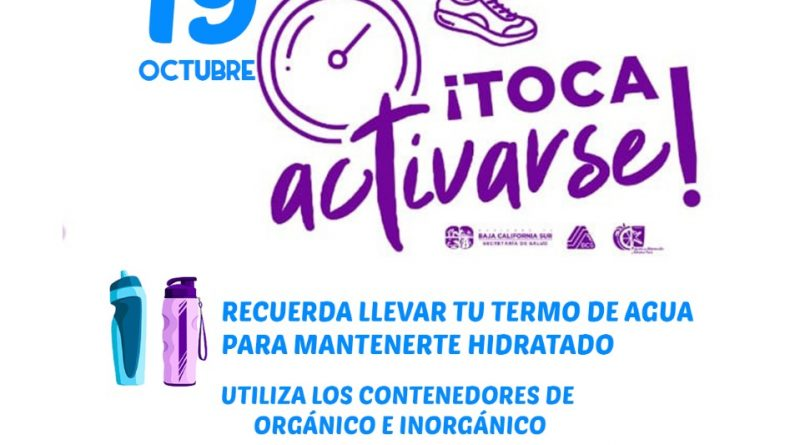"Magna activación física ""Toca Activarte"" ahora en Comondú"