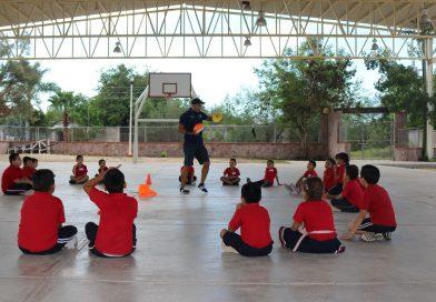 Fortalece SEP la educación física en escuelas rurales y semi urbanas de BCS
