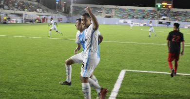Golean Lobos Marinos a deportivo Dongu 7-0