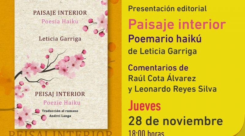 """Presentará la casa del libro sudcaliforniano el libro """"Paisaje Interior"""""""