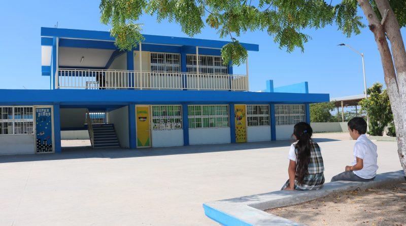 Mejora gobierno estatal el 80 por ciento de escuelas de BCS