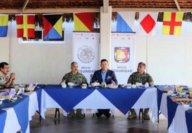Fortalecemos la coordinación en la estrategia de seguridad en BCS