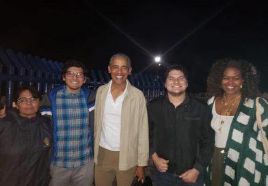 Barack Obama y su esposa vacacionan en Loreto