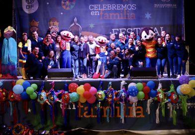 Espectacular cierre de los festivales de día de reyes del SEDIF