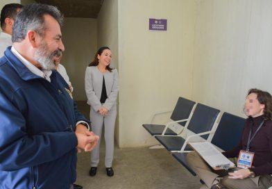 Recibe Penal de La Paz donación de mobiliario