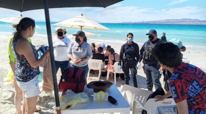 Inicia ZOFEMAT con restricción en playas locales