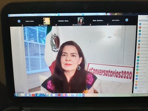 Participa UABCS en conversatorio coordinado por el Consulado General de México en Los Ángeles