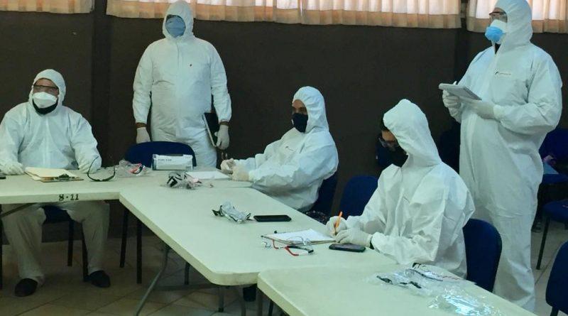 Cuerpos de seguridad y rescate de Loreto toman curso sobre bioseguridad y desinfección