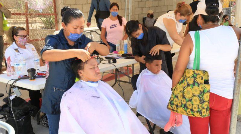 Por tercera semana consecutiva el Gobierno de Los Cabos acerca servicios médicos y sociales a las colonias del municipio