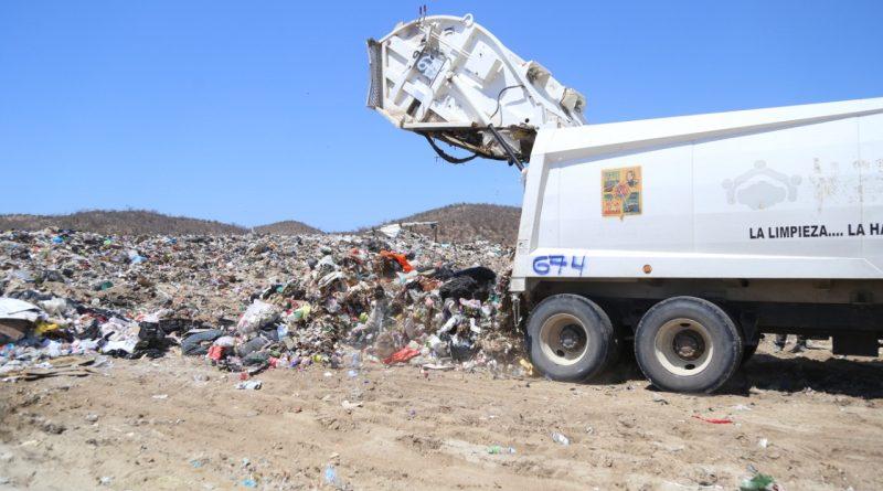 Más de 39 mil toneladas de Ramas, Cacharros y Basura doméstica, se han retirado de las calles de Los Cabos durante la actual contingencia