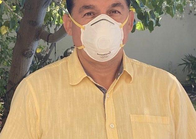 Confirma alcalde de La Paz que dio positivo en prueba de Covid-19