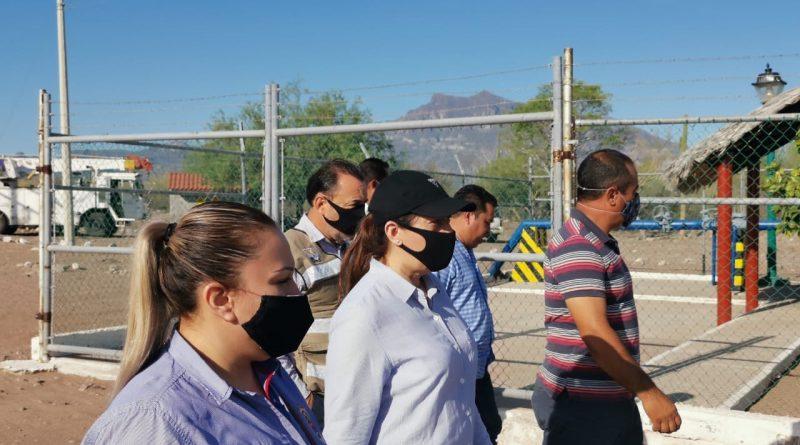 Atiende alcaldesa de Loreto problemática del abastecimiento de agua potable.