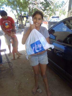 Entrega DIF Los Cabos 450 despensas a miembros del Programa Federal Desayunadores Escolares