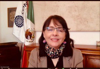 Directora general del CONACyT impartirá conferencia virtual este próximo lunes