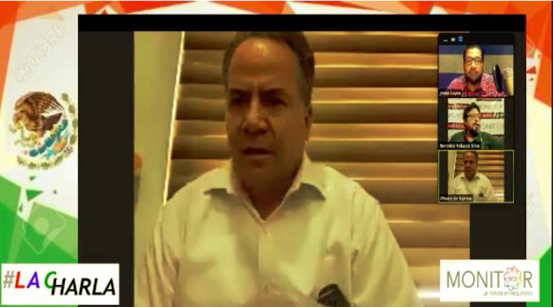 Como león enjaulado el diputado Ruíz Flores,ante el regreso de los diputados de oposición