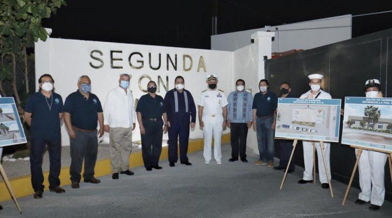 Inicia Gobierno Estatal obras en favor de los marinos militares retirados y de los pescadores