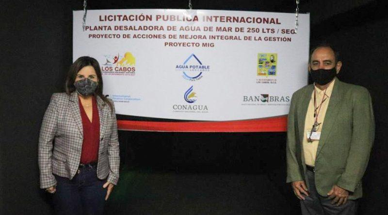 ¡Armida Castro cumple! Se garantiza la transparencia en la Licitación Pública Internacional de la nueva Planta Desaladora en CSL