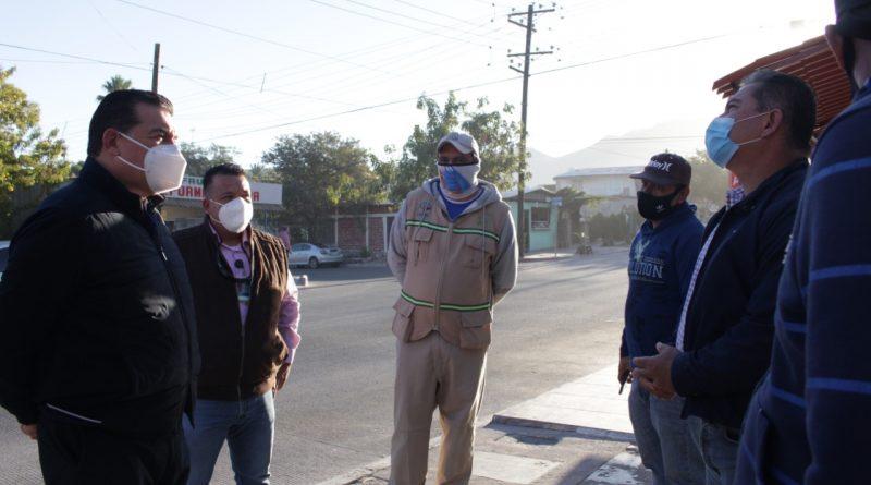 Se reúne el Presidente Rubén Muñoz con trabajadores de sectores del OOMSAPAS La Paz