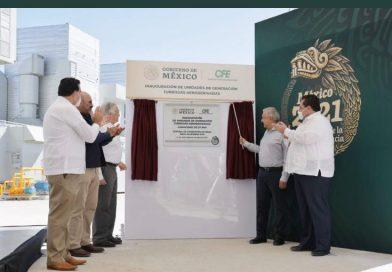 inician AMLO y Gobernador operación de plantas de gas natural en BCS