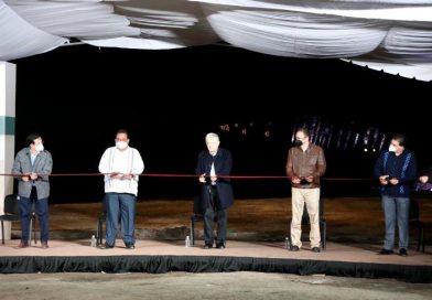 Inaugura presidente Andrés Manuel reconstrucción de 8 km de la carretera a Pichilingue de 26 que mide de longitud el tramo