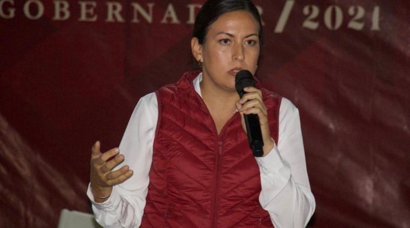Se compromete Milena Quiroga a reactivar consejos municipales y fideicomiso para renovación de unidades del transporte