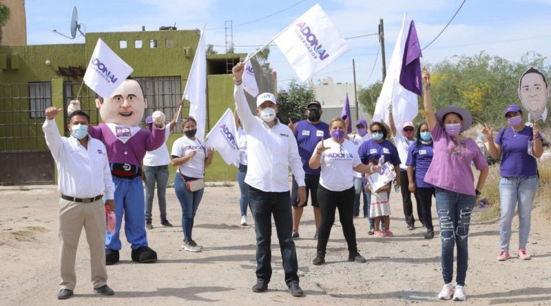 Con las y los candidatos del PES, las familias de La Paz tendrán mejores oportunidades: Adonai Carreón