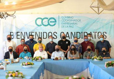 Diálogo será vínculo permanente con empresarios de CCE: Víctor Castro