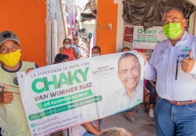 """""""Chaky"""" Van Wormer con propuestas reales para los cabeños"""