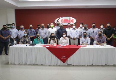 Impulsarán CMIC y Milena Quiroga obra pública de calidad en La Paz