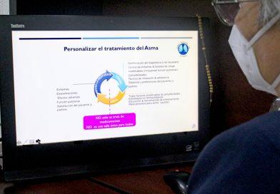 Fortalecimiento a través de la capacitación en tratamientos de pacientes con asma: SSA