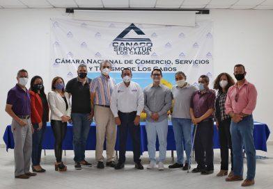 Con el sector empresarial y una estrategia sólida, Los Cabos será líder nacional en economía: Adonai Carreón