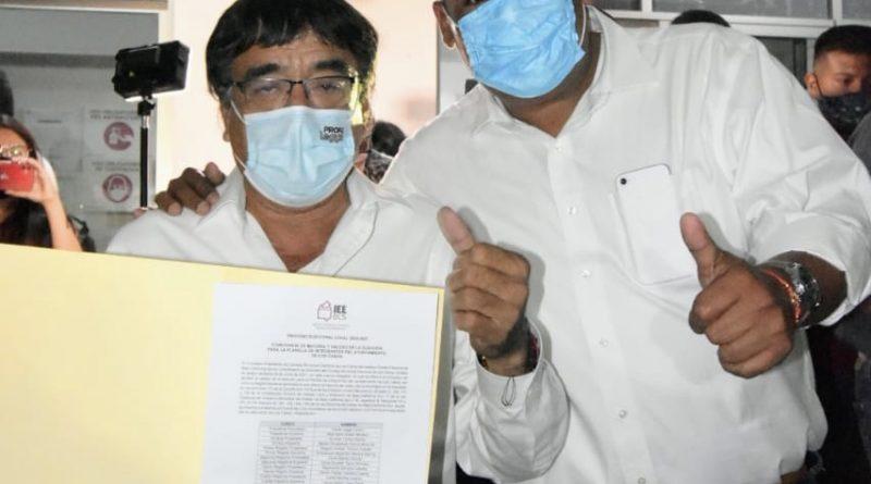 Recibe Oscar Leggs constancia como presidente municipal electo de Los Cabos