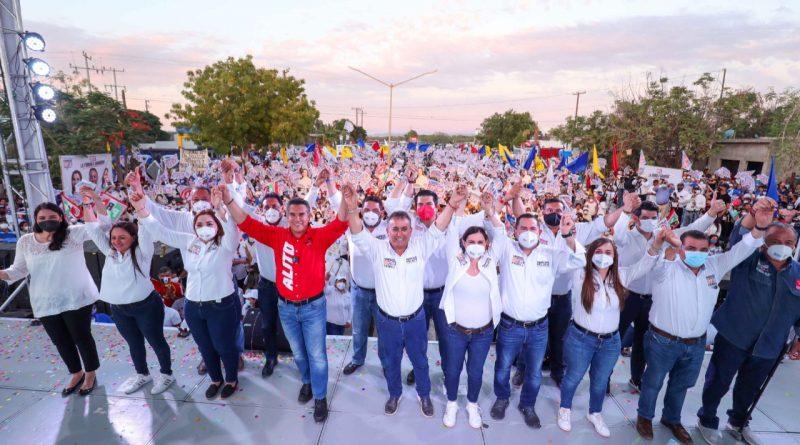 ESCAPARATE POLÍTICO Por Jesús Ojeda Castro    +Concluyen las campañas. Todos listos para la elección de este domingo. Las encuestas señalan como favoritos a candidatos de la Alianza Unidos Contigo.