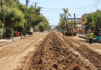 Gobierno del Estado inicia programa de pavimentación en vialidades de La Paz