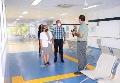 Visita presidenta de SEDIF instalación del centro de rehabilitación del centro de rehabilitación y educación especial
