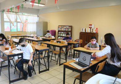 Se incorporan a clases presenciales el 50 por ciento de escuelas de nivel básico en BCS