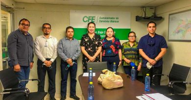 Logra alcaldesa de Mulegé Edith Aguilar acuerdo con CFE para regularizar deuda heredada