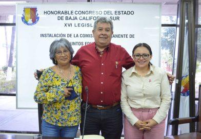 El Congreso será una autoridad que contribuya al mejoramiento de las necesidades de educación en BCS: José María Avilés